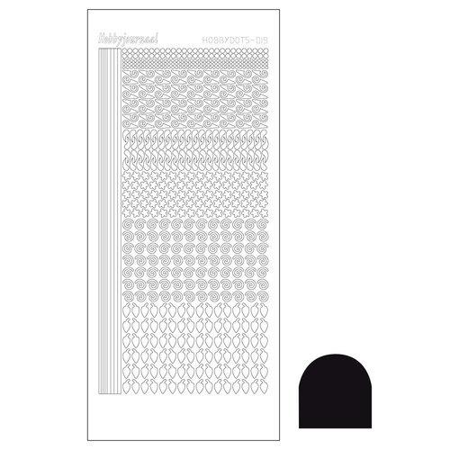 Hobbydots sticker - Adhesive Black  nr.19