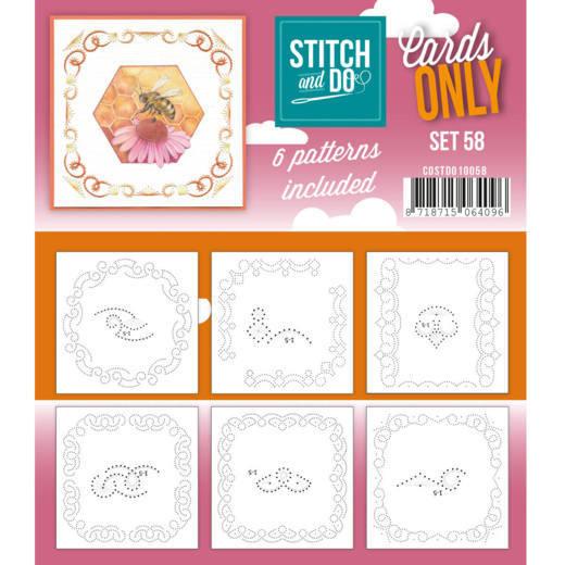 Cards only Stitch 58