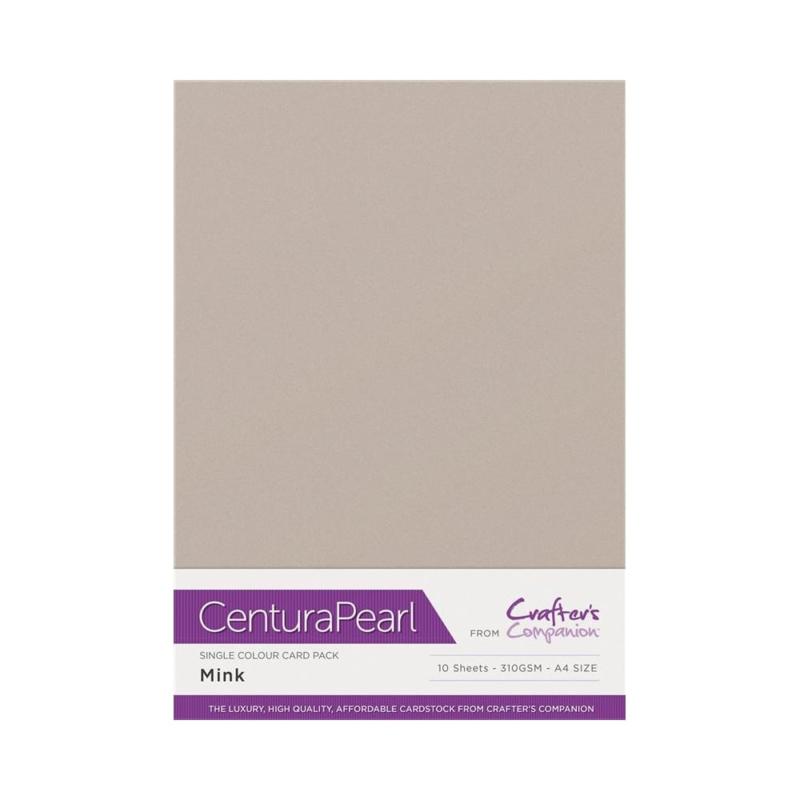 Centura Pearl enkelzijdig 1 Vel - Mink CP10-MI