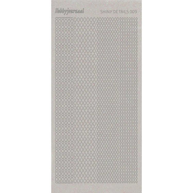 Shiny Details - Point Oval - Zilver   SDS009TZ