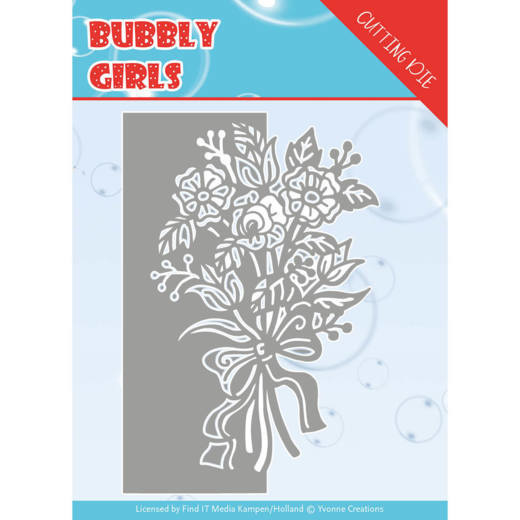 Dies - Yvonne Creations - Bubbly girls- Bouquet YCD10168