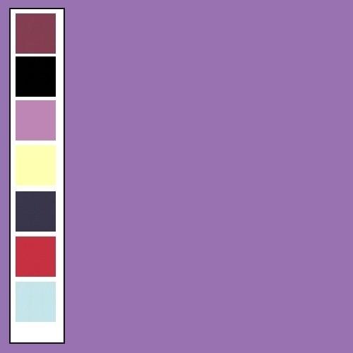 Linnenkarton - Vierkant - Violet  18