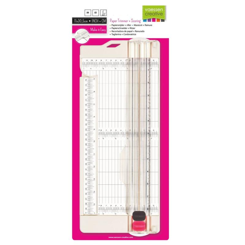 Vaessen Creative papiersnijder + riller 11x30,5cm
