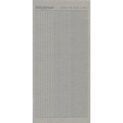 Shiny Details- Lines - Zilver  SDSLTZ