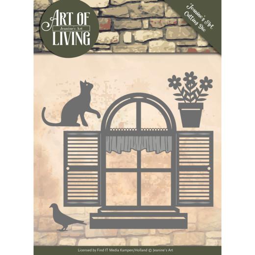 Dies - Jeanine's Art - Art of Living - Home Sweet Home  JAD10054