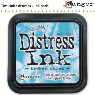 Tim Holtz distress ink pad broken china 21414