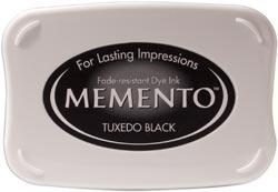 Memento inktkussen Tuxedo black 4900