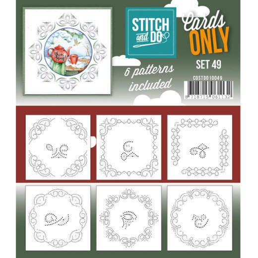 Cards only Stitch 49