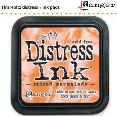 Tim Holtz distress ink pad spiced marmalade 21506