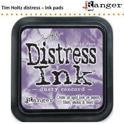 Tim Holtz distress ink pad dusty concord 21445