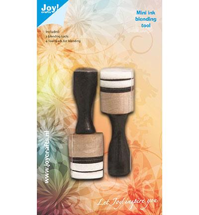 Mini Inkt Blending Tool set  6200/0226 /2 minihouders- 4 mini-foampads – Ø 20 mm