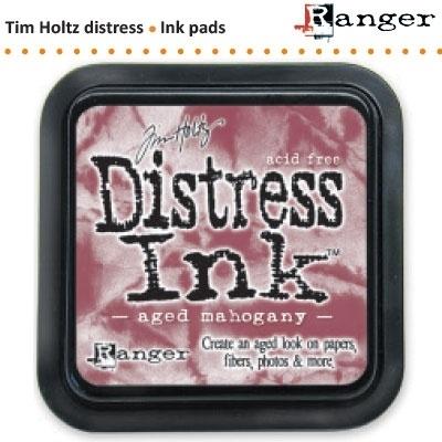 Tim Holtz distress ink pad aged mahogany 21407
