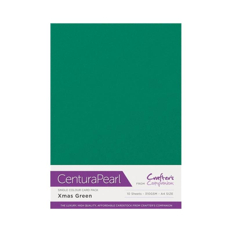 Centura Pearl Enkelzijdig a 1 Vel - Kerst groen CP10-XGRE
