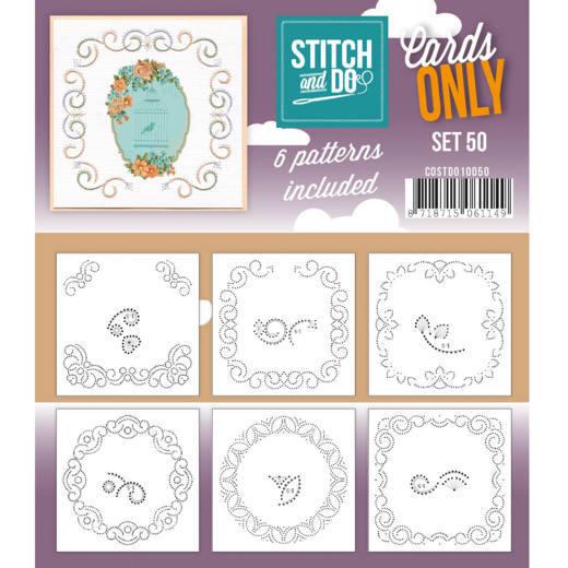Cards only Stitch 50