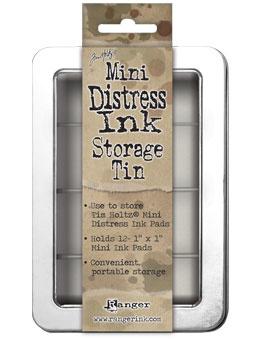 Tim Holtz Distress Mini ink Storage Tin 42013