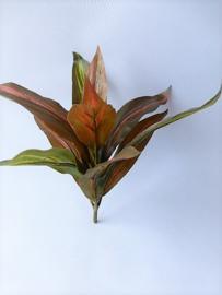 Dracena bont rood kunstplanten kunstbloemen