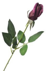 Roos  PTMD aubergine  klein kunstbloemen kunstplanten