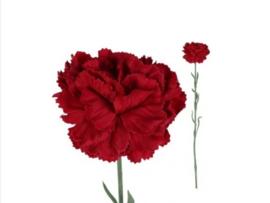 Nelke rot Kunstblumen