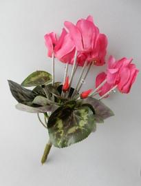 Cyclaam klein roze MICA kunstplanten en kunstbloemen