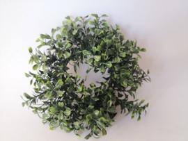 Krans buxus kunstplanten