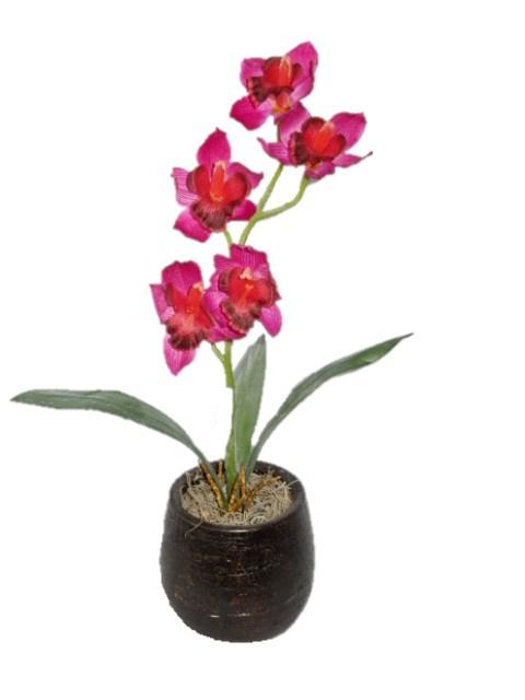 Orchidee Cymbidium Kunstpflanzen Kunstblumen