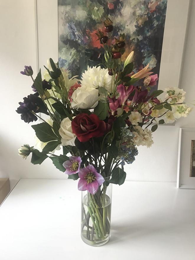 kunstbloemen,veld,pluk,boeket,losse