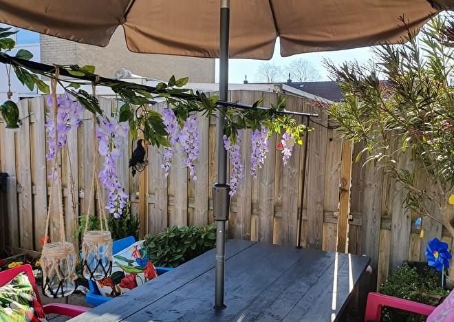 wisteria,slinger,girlande