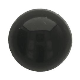 Veiligheidsogen zwart 5mm (5 paar)