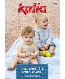 Katia tijdschrift lente/zomer baby en kinderen nummer 92