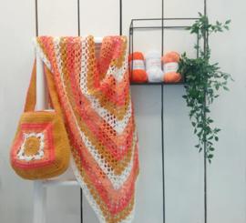 Pakket Festival, Omslagdoek en een tas oranje