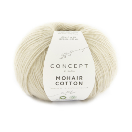 Mohair cotton kleur 77