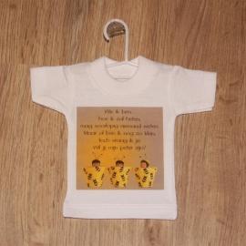 Mini t-shirt ONTWERP E zonder echo