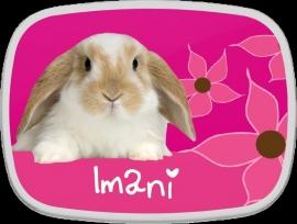 "Lunchbox Campus MIDI ontwerp ""konijn"""
