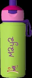 "Pop-up drinkfles Campus ontwerp ""kat"""