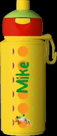 "Pop-up drinkfles Campus ontwerp ""kikker"""