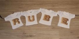Geboorteslinger - Prijs = per mini t-shirtje !!!