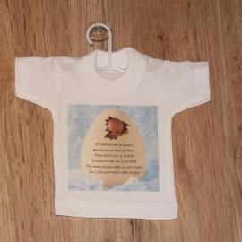 Mini t-shirt ONTWERP H zonder echo
