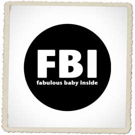Button FIB (fabulous baby inside)