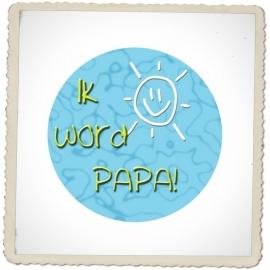 "Button ""Ik word opa / oma / meter / peter / tante / nonkel / enz."""