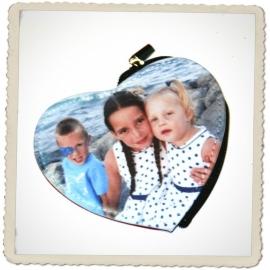 Geldbeugel hartje met foto / ontwerp