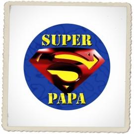 "Magneet ""super papa"""