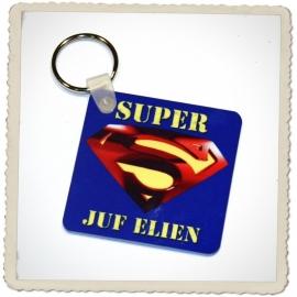 Sleutelhanger Super juf / meester