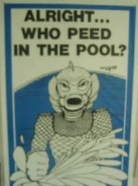 Who Peed in the Pool