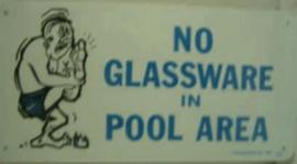 No Glassware