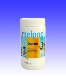 Melpool chloortabletten (groot) 90/200  1kg / 5kg / 10kg