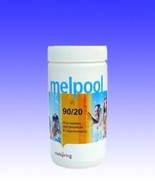 Melpool chloortabletten (klein) 90/20  1kg / 5 kg / 10kg
