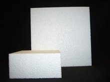 Taartvorm vierkant, doorsnede 5 cm