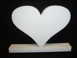 Hartvorm staand, breedte 35 cm