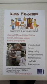 Klein frankrijk zaterdag 12 mei