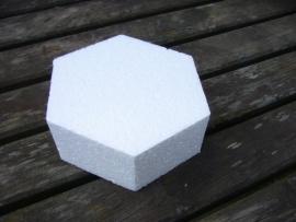 Taartvorm zeskant, doorsnede 15 cm